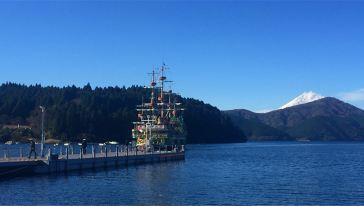 【曹婷提供】芦之湖海盗船1