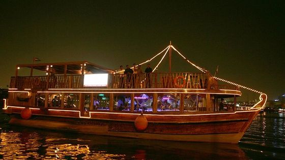 Evening Dhow Dinner Cruise in Dubai
