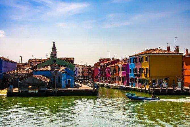 Murano Burano Islands guided cruise & Venice Lagoon panoramic tour in 4 hours