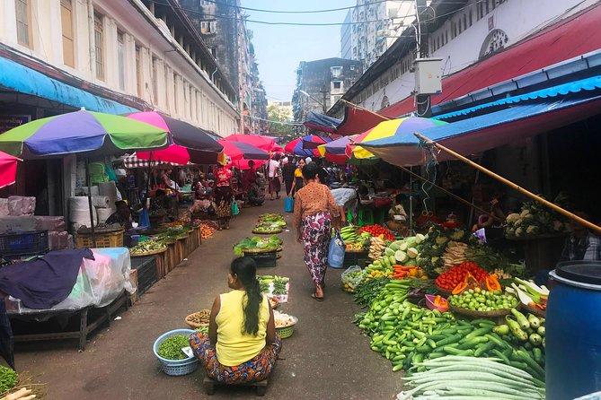 Yangon Cosmopolitan City Walking Tour