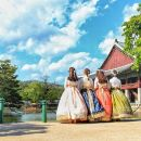Seoul Highlight Tour for Muslim with hanbok Experience and Halal BBQ
