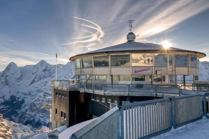 Schilthorn - 007-James Bond world - with private tourguide - starts from Basel