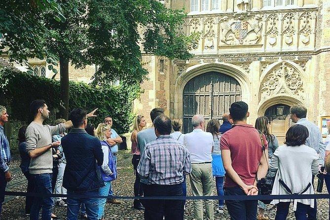 Cambridge University Graduate-Guided College Walking Tour
