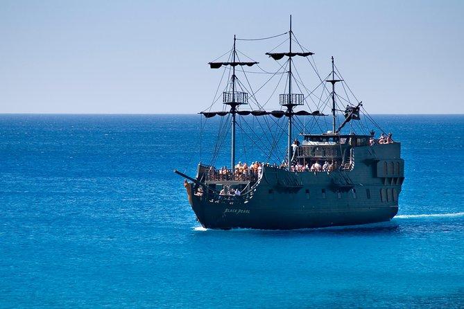 Black Pearl Pirate Ship from Ayia Napa Hotels