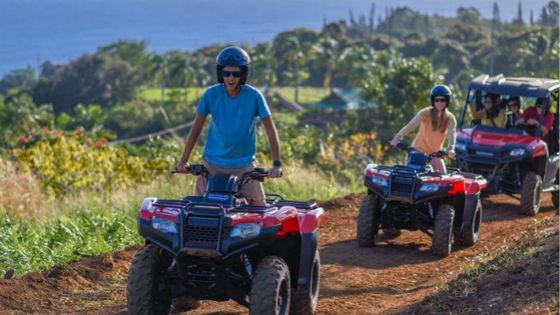 ATV Adventure in Umauma