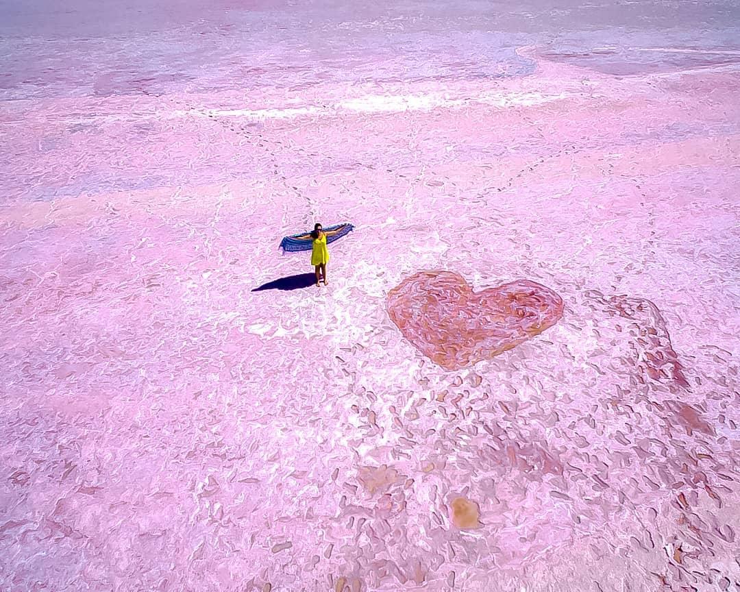 墨爾本的粉色少女夢+復古巴拉瑞特金礦鎮+ins風仙氣粉紅湖一日遊(中文包車司導 景點講解)