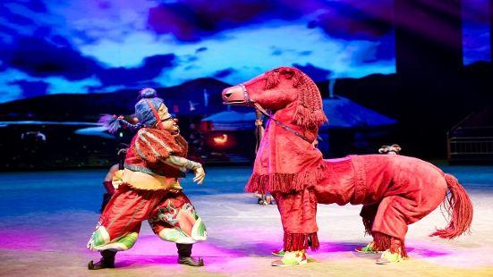 中國馬鎮滿韻騎風奇幻秀