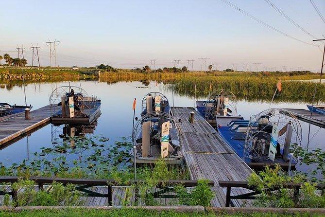 Florida Everglades Airboat Adventure and Wildlife Encounter Ticket