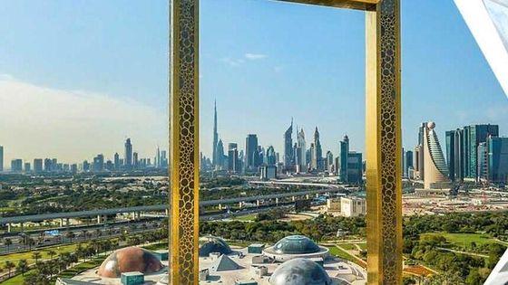 Dubai Frame and City Tour: Covid-19 safe & PRIVATE tour