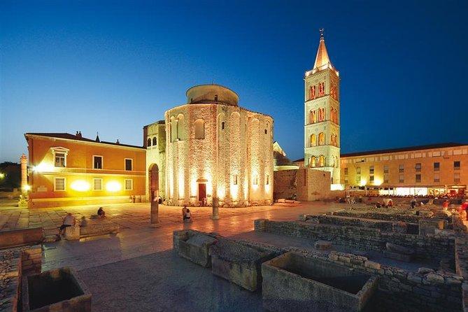 Zadar Day Trip from Split with transfer to Plitvice Lakes