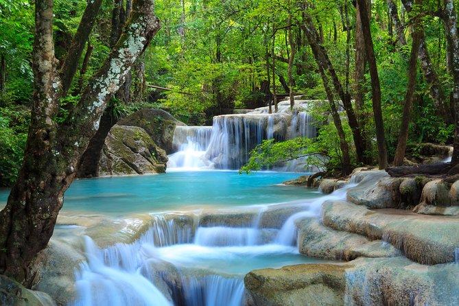 Private Tour to Bridge over River Kwai and Erawan Waterfalls