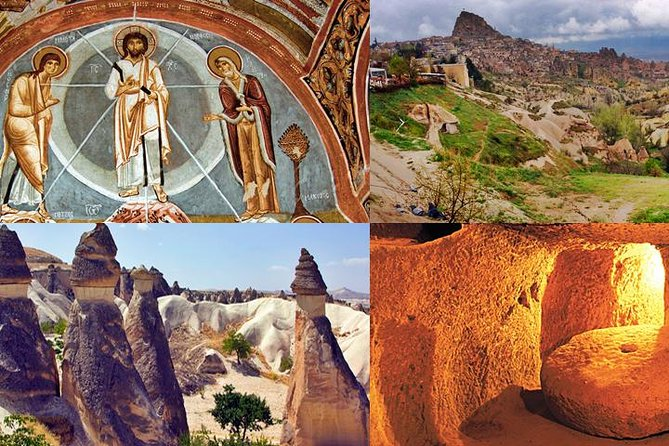 Tour of Highlights of Cappadocia with Lunch