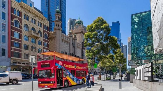 Melbourne Hop-On Hop-Off Bus Tour & Entrance to Optional Attractions