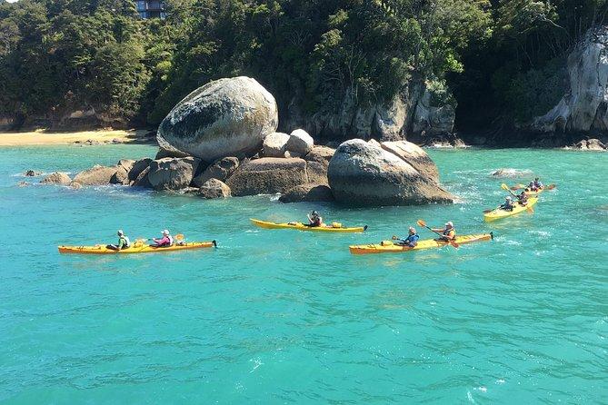 Full-Day Biking and Kayaking Adventure: Nelson to Kaiteriteri