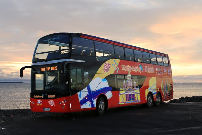 City Sightseeing Helsinki Hop-On Hop-Off Bus Tour