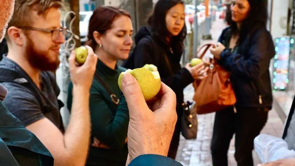 Secret Food Tour With the Locals in Tin Hau Hong Kong w/ Private Tour Option