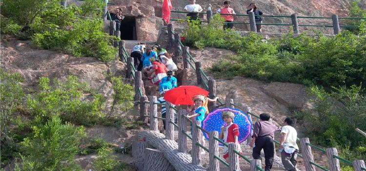 丹鳳鳳冠山石窟3