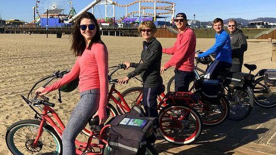 Private Electric Bike Tour of Santa Monica and Venice Beaches
