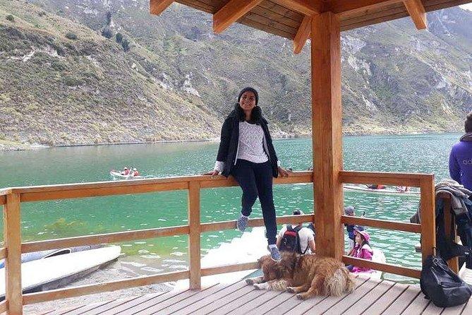 QUILOTA (La Laguna Del Dios) LA OCTAVA MARAVILLA DEL MUNDO UN LUGAR DE PAZ OFERT