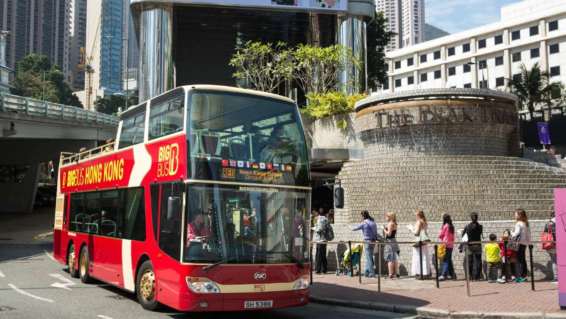 Hong Kong Big Bus Unlimited Hop-On Hop-Off Sightseeing Tours