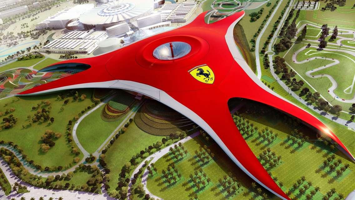Ferrari World, Warner Bros World & Yas Water World Combo Tickets