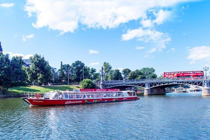 Red Sightseeing Stockholm Hop-On Hop-Off Boat