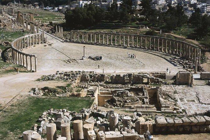 The North Tour of Jordan Jerash Ajlun Castle and Um Qais