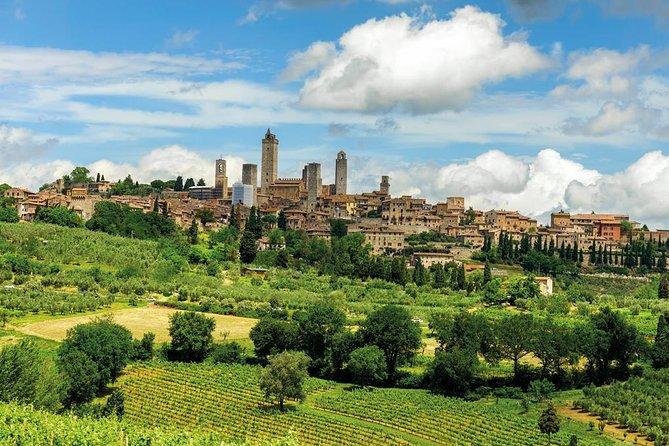 ピサ、サン ジミニャーノ、シエナを巡る、ランチ付きフィレンツェ日帰りツアー