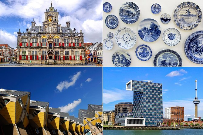 Live guided tour to Rotterdam, Delft & The Hague from Amsterdam.