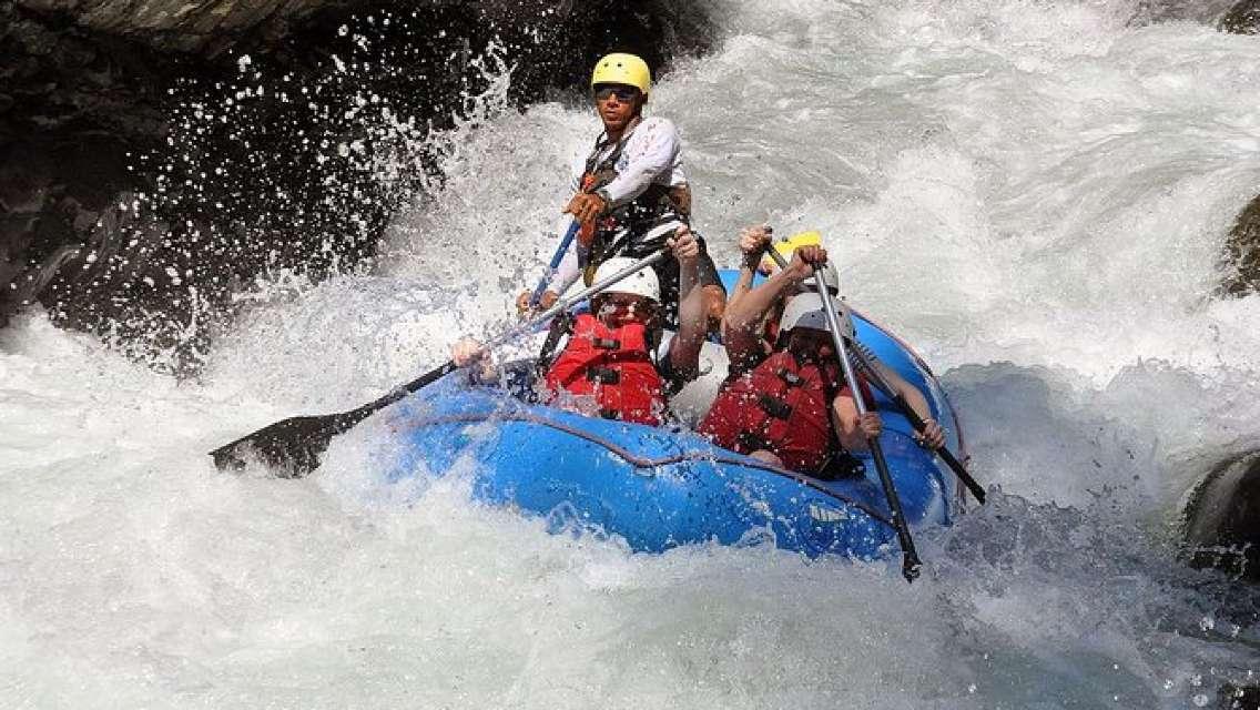 White Water Rafting Naranjo River |Class III From Manuel Antonio