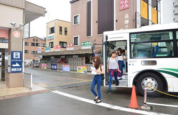 【高速巴士車票】富士山・河口湖—飛驒高山單程車票