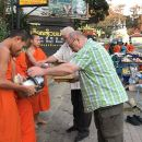 Alms and Wat Phra That Doi Suthep Private Chiang Mai Tour