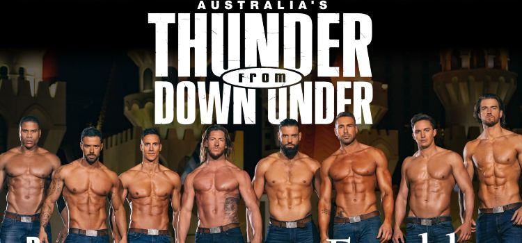 《Thunder from Down Under》澳洲猛男秀