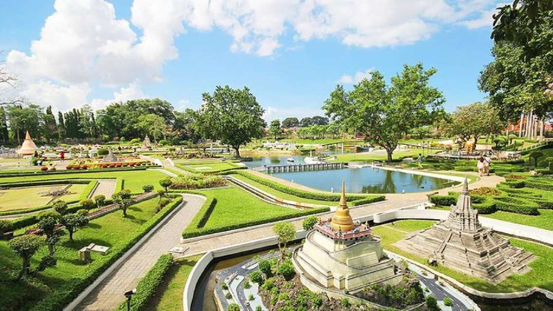 Mini Siam Miniature World Admission with Roundtrip Transfer from Pattaya