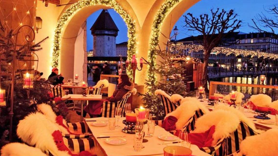 Lucerne Fondue Winter Pleasure with Lake Trip and City Tour