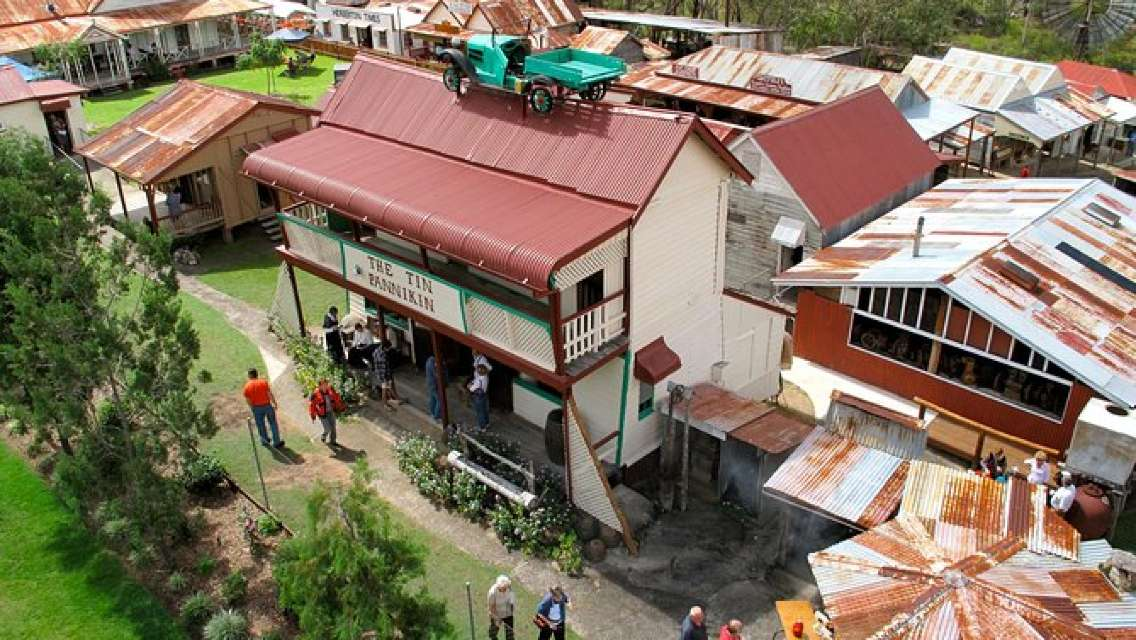 Historic Village Herberton, Kuranda Village and the Skyrail Rainforest Cableway