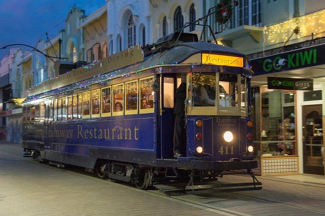 Tramway Restaurant 4 Course Dinner Service through Christchurch