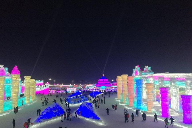 Private Full Day Transfer Service to Harbin Top Winter Attractions