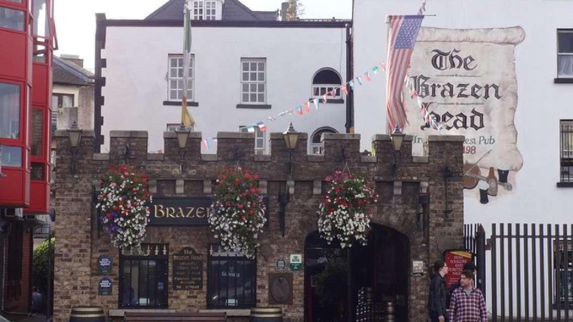 Brazen Head - Oldest Pub in Ireland and Dublin Castle City Tour