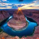 Antelope Slot Canyon and Horseshoe Bend Day Tour from Flagstaff