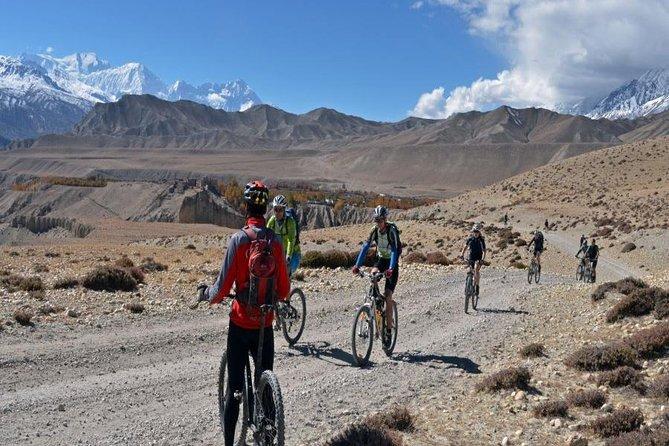 Private cycle tour from Nagarkot to Bhaktapur via Changu Narayan with transfers
