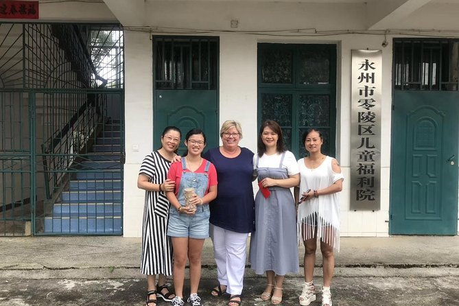 Hunan Orphanage visiting