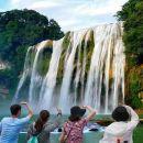 貴州黃果樹瀑布+陡坡塘瀑布+天星橋風景區+純玩一日游(可選2-6人精緻小團/上門接/直達景區)