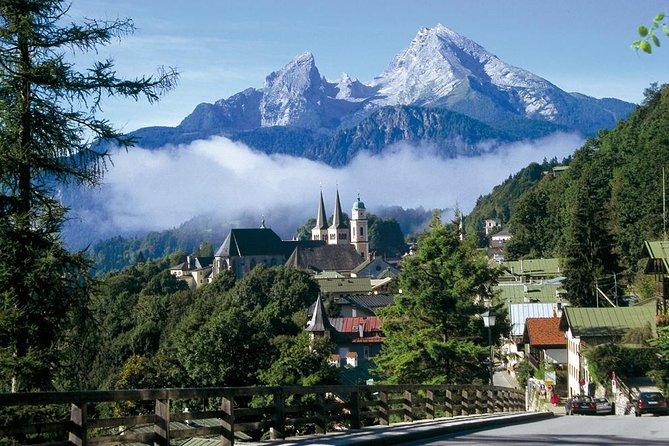 Bavarian Mountains including Berchtesgaden from Salzburg
