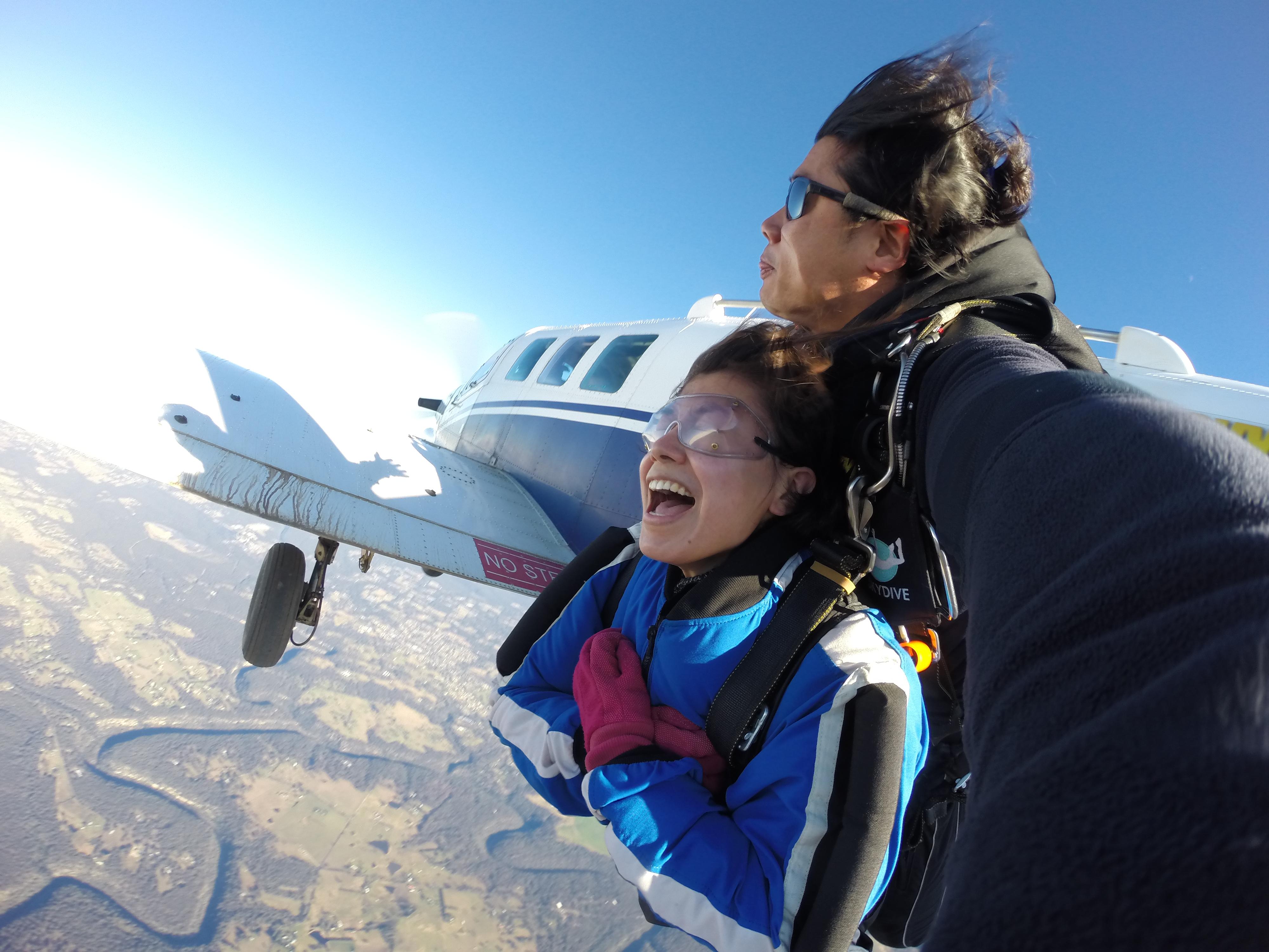 시드니 스카이다이빙 14 000ft
