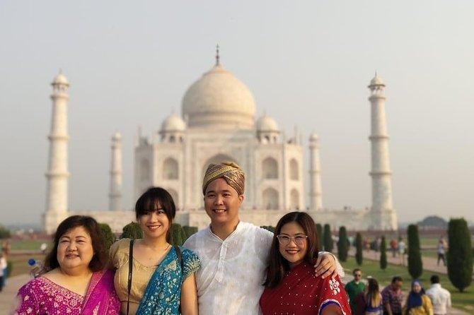All Inclusive - Private Tour of Taj Mahal, Agra Fort & Baby Taj From Delhi