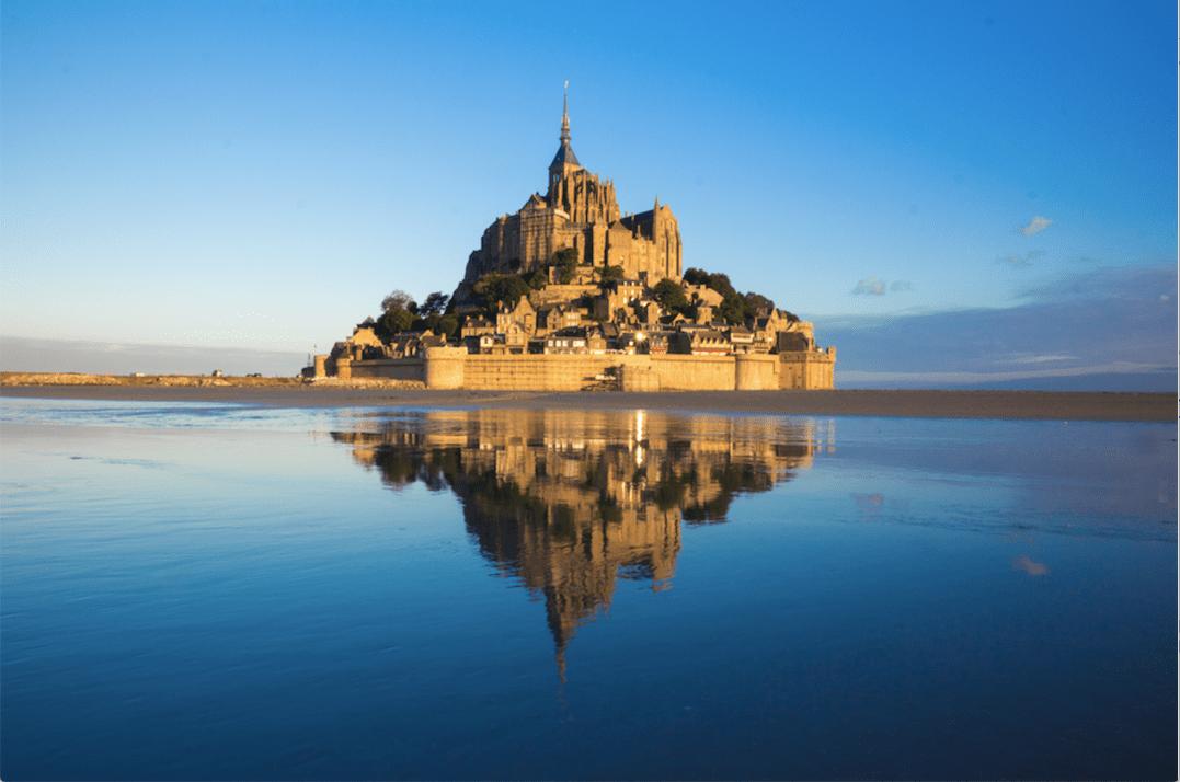 【法國中世紀絕美山城】聖米歇爾山一日遊(巴黎出發)