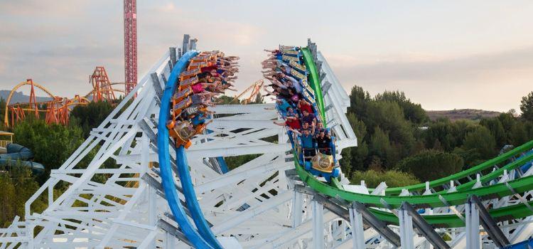 Six Flags Magic Mountain Theme Park1