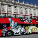Madrid Hop-on & Hop-off Bus Pass (1/2 Day Pass)