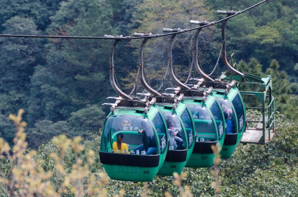 항저우 북고봉 케이블 카 탑승권